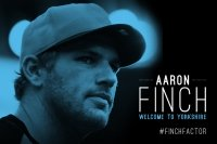 Welcome to Yorkshire Aaron Finch