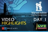 Video Highlights: Warwickshire v Yorkshire (Day 1)