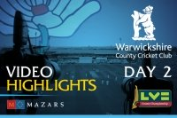 Video Highlights: Warwickshire v Yorkshire (Day 2)