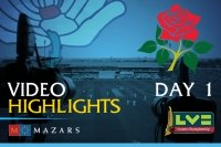 Video Highlights: Lancashire v Yorkshire (Day One)