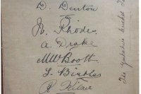 THROWBACK THURSDAY: 1914 Autographs