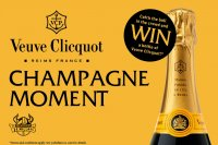 Veuve Clicquot Champagne Moment- Your chance to win!