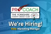 Vacancy: Pro Coach are seeking a Marketing Manager to join their team