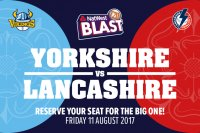 Reserve Your Lancashire T20 Tickets