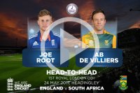 ODI Head-to-Head: Root v De Villiers