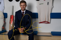 Win an England Test Shirt signed by Joe Root