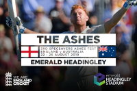 Emerald Headingley to host Third Ashes Test
