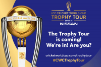 ICC Cricket World Cup trophy tour announced