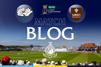 LIVE BLOG: YORKSHIRE V SURREY, CC, DAY 1