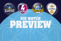 BIG MATCH PREVIEW: VIKINGS - DIAMONDS DOUBLE-HEADER