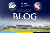 LIVE BLOG: YORKSHIRE V KENT, CC, DAY THREE