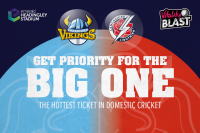Register for priority access to Roses Vitality Blast tickets now!
