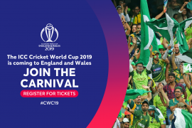 PRE-REGISTER FOR ICC CRICKET WORLD CUP PUBLIC BALLOT