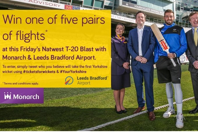 Win Free Flights This Friday - News - Yorkshire County Cricket Club