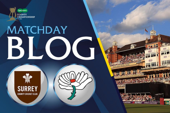 LIVE BLOG: SURREY V YORKSHIRE, CC, DAY FOUR - News