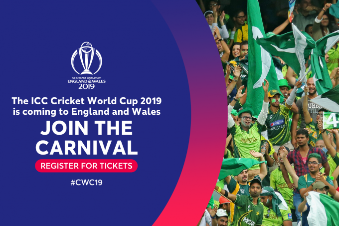 Pre Register For Icc Cricket World Cup Public Ballot News