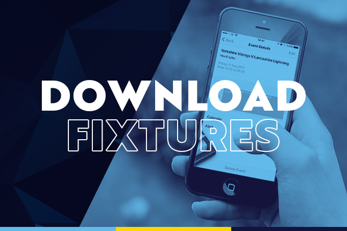 Download The 2019 Fixtures To Your Calendar News Yorkshire