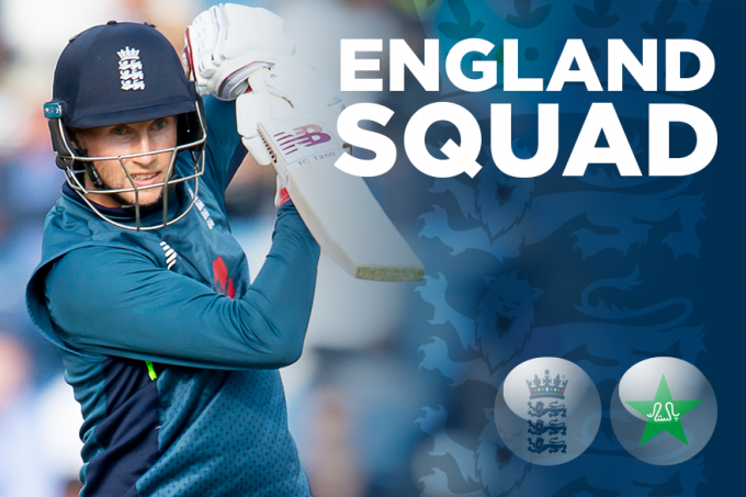England squads announced for ODI & ICC Cricket World Cup